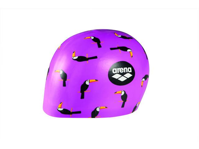 arena Poolish Moulded Casquette, toucan violet
